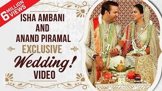 Isha Ambani and Anand Piramal's alluring Wedding Ceremony | EXCLUSIVE | Pinkvilla