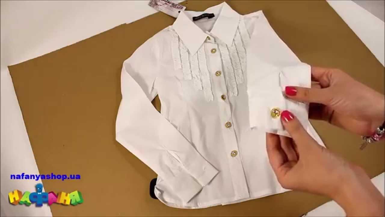Купить школьные блузки для девочек в интернет магазине wildberries. Ru.