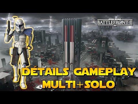 Détails Gameplay - CONCEPT ART MAPS +Système d'Héros, Blaster, Véhicule + Campagne   Battlefront 2