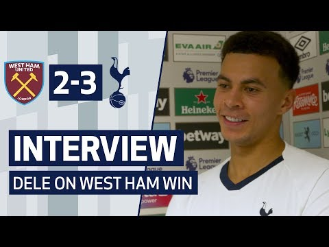 INTERVIEW | DELE ALLI ON WEST HAM WIN | West Ham 2-3 Spurs