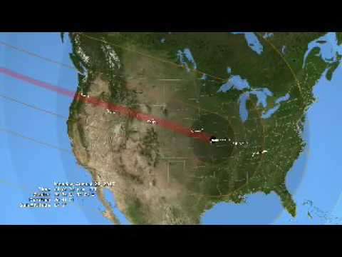 NASA traces the upcoming 2017 total solar eclipse