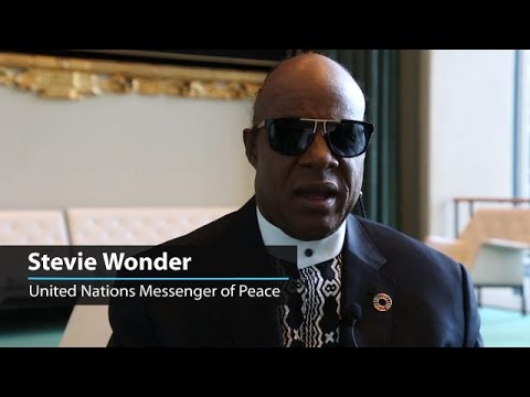 Stevie Wonder: together, we must make the world a place of unification