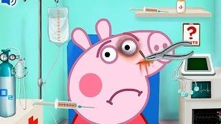 NEW Игры для детей—Свинка Пепа реанимация—Онлайн Видео игры для девочек