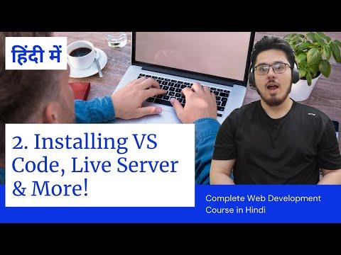 HTML Tutorial: Installing VS Code & Live Server | Web Development Tutorials #2