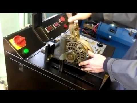 Диагностический стенд для проверки генераторов и стартеров MOTORHERZ Expert One