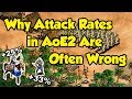 Why Attack Rates in AoE2 Are Often Wrong