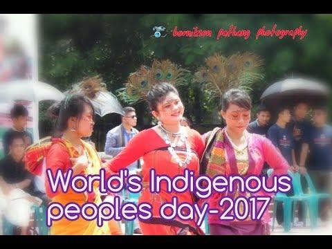 বিশ্ব অাদিবাসী দিবস ২০১৭ ঢাকা!(World's Indigenous peoples day-2017)