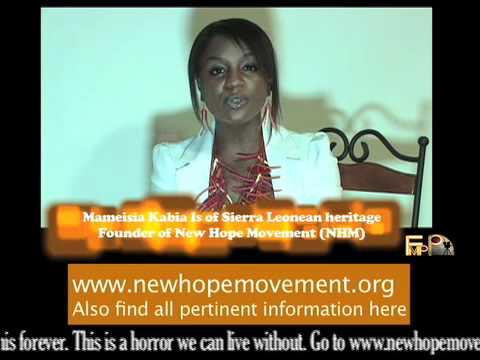 MAMEISIA KABIA- NEW HOPE MOVEMENT (NHM)-SIERRA LEONE