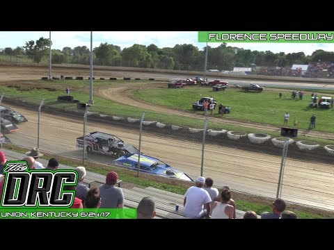 Florence Speedway | 6/24/17 | American Modified Series | Heat 1