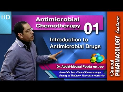 Antimicrobial chemotherapy - 01- An introduction
