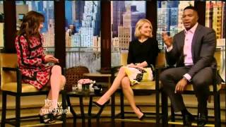 Dakota Johnson Interview   Fifty Shades of Grey   Live with Kelly and Michael 2015