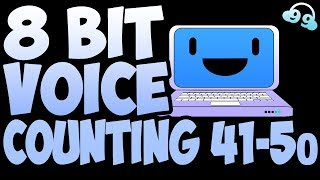 8 Bit Voice Counting 41 to 50 (FREE TO USE - FREE DOWNLOAD!)