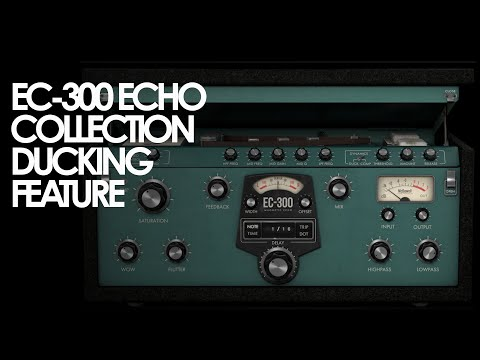 Using the Ducking Feature on the EC-300 Echo Collection