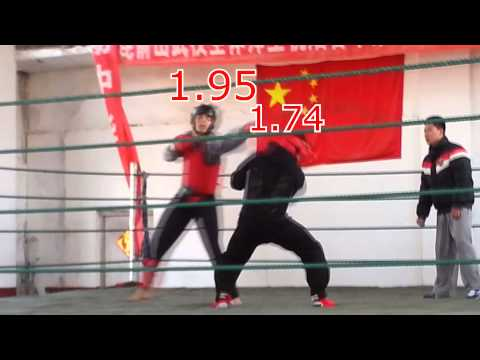 Fight! - sparring match [Trip to China 2014]