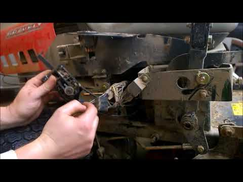 gravely throttle/choke problem - YouTube