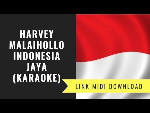 Indonesia Jaya - Lagu Wajib FLS2N 2019 (karaoke/Midi Download)