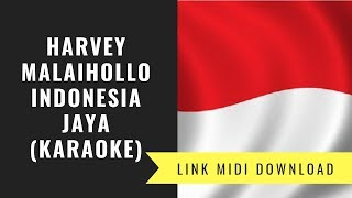 Indonesia Jaya - Lagu Wajib FLS2N 2019 (karaoke/Midi Download)