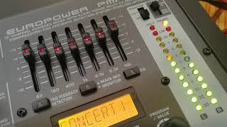 Behringer PMP500 Powered Mixer & Fun generation (PL115P) speakers from Thomann - Sound Test