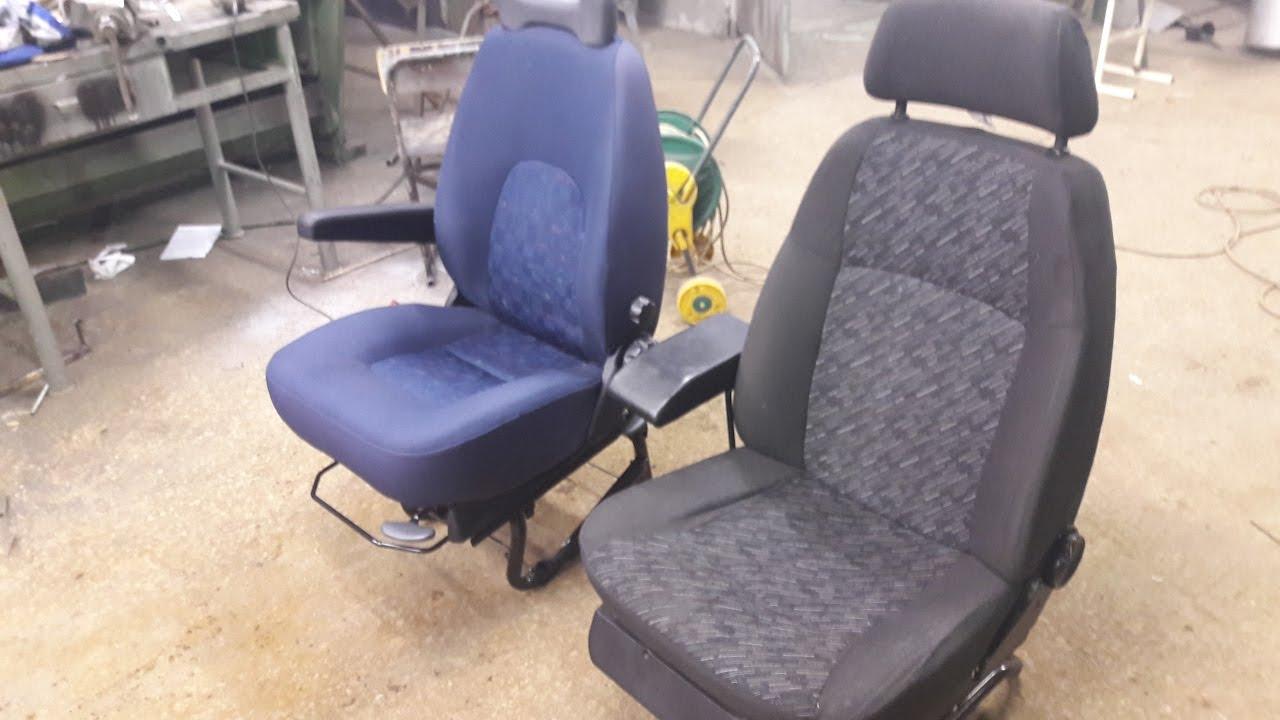 Кресло от Фиат в Газель Бизнес / ремонт двери