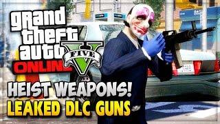 GTA 5 Online Heist Weapons! New Leaked Thermite Bomb & Flare Gun Heist DLC! (GTA V Online Gameplay)