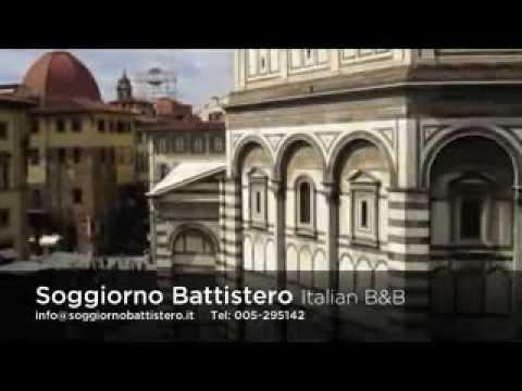 Soggiorno battistero florence b b 39 055 295143 youtube for Firenze soggiorno