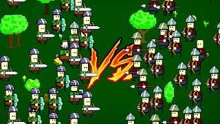 WELCHES TEAM GEWINNT ?? (Tiny Battle Simulator)