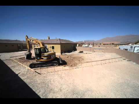 Making Of A Las Vegas Swimming Pool