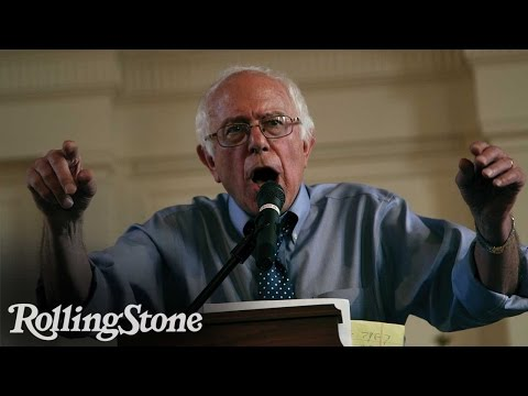On the Campaign Trail: Bernie Sanders