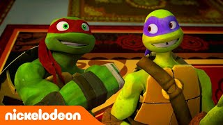 Черепашки-ниндзя | Нет времени на тренировку | Nickelodeon Россия