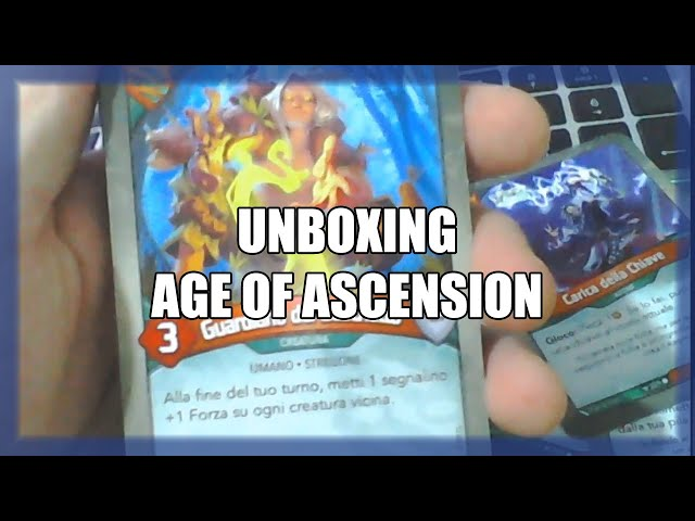 Seconda sbustata a sorpresa in live streaming | Unboxing AoA #5 | Keyforge