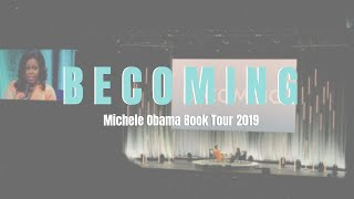 Michele Obama Becoming Booking Tour //Austin TX