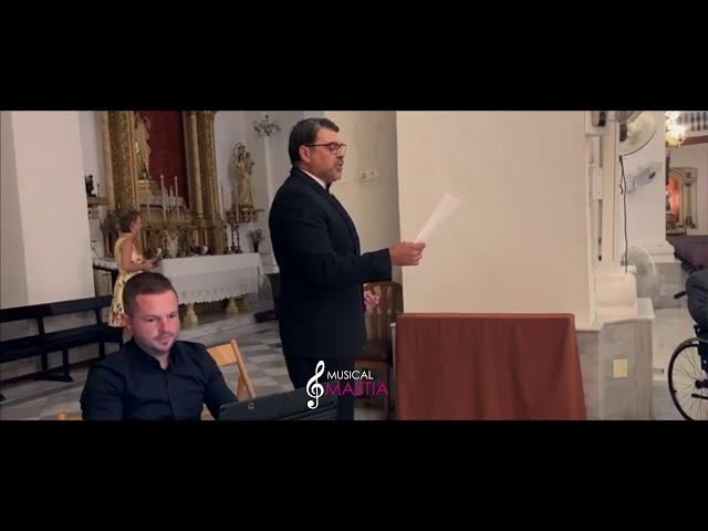 🎙️ Por ti Volare | Contratar Tenor para Boda | Musical Mastia | Musica Bodas