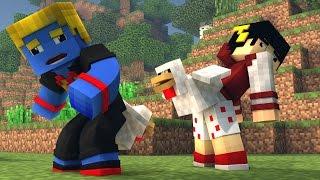 Minecraft: DANDO VIDA A GALINHAS - Build Battle ‹ AM3NIC ›