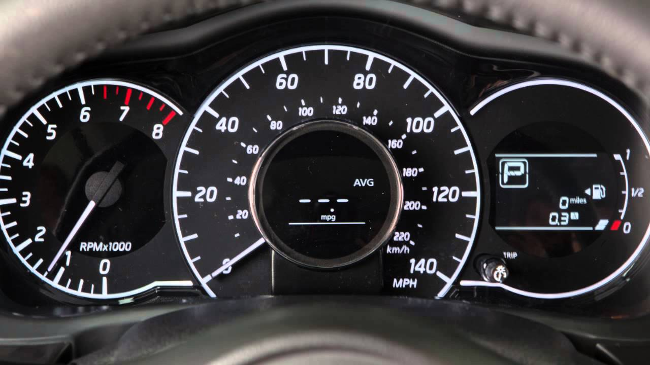 2016 NISSAN Versa Note   Trip Computer And Trip Odometer   YouTube