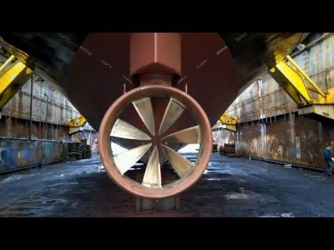 Rim Driven Propellers (RDP) or Rim Drive Propulsers and Thrusters