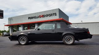 1987 Buick Grand National Turbo V6 - For Sale - Formula One Imports Charlotte