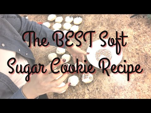 Drop Sugar Cookie Recipe || You NEED This Recipe!!