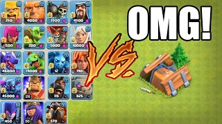EVERY SINGLE TROOP VS THE SHRINK TRAP | Ultimate Troop Battle - Who's Best | Clash Of Clans