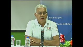 Ministry Of Health Press Conference On COVID-19 In T&T - Saturday March 21st 2020