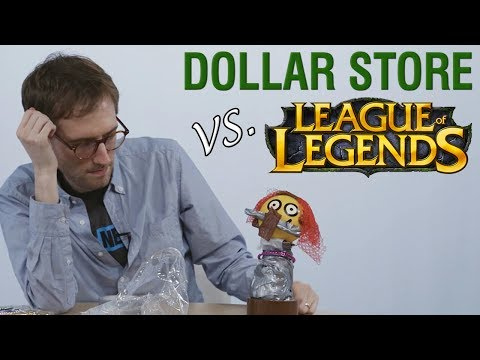 Russ Spends $20 in LoL vs. $20 at the Dollar Store — PAY TO WIN