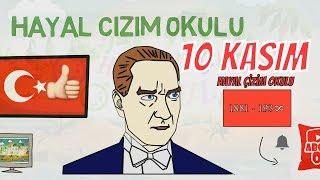 10 Kasım Resmi Çizimi - Atatürk Resmi Çizimi