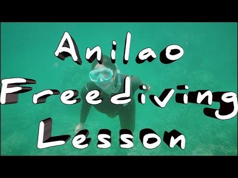 Freediving Lesson At Anilao Batangas