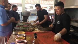 Kebapçı Muzo Gaziantep Boğazaltı ve Tavuk Şiş Zırh Sokak Yemekleri Street Food Turkey