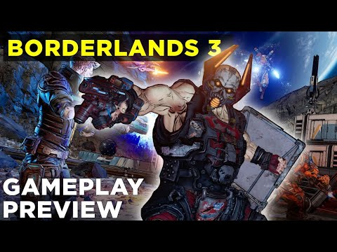 Watch gameplay from Borderlands 3