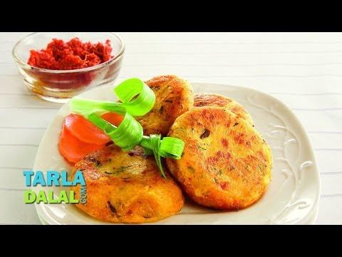 Aloo Tikki, Potato (Aloo) Tikki Recipe by Tarla Dalal