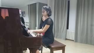 "Öğrecimizden ""F. Chopin - Nocturne C#minor"" Performansı"