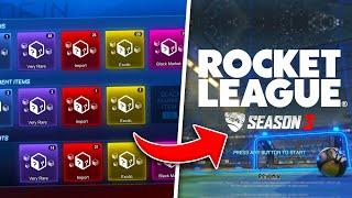 NEW SEASON 3 TRADE UPS Are Here! INSANE Rocket League Update For Season 3!