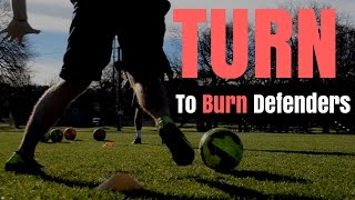 soccer drill to boost speed and turn on a dime