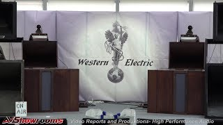 Silbatone Acoustics, Western Electric Horns, Schroder Tonearms, High End 2019