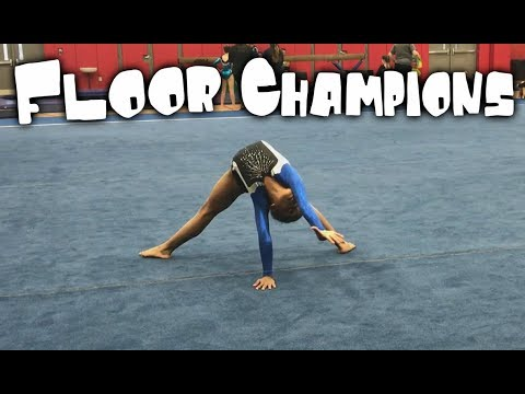 Amazing 7 Year Old Gymnast - 9 8 On Floor| Rachel Marie